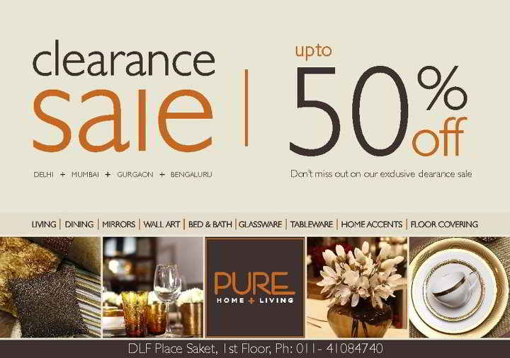 Home And Living Shop clearance sale at home living upto 50 deals sales