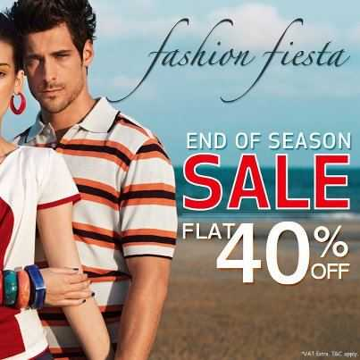 0f0f5fe3246d Fashion Fiesta: Avail flat 40% off on all the Apparels at Wills Lifestyle  stores