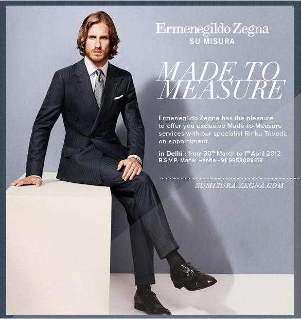d5b314e050 Ermenegildo Zegna | Stores, Outlets, Restaurants in DLF Emporio Mall ...