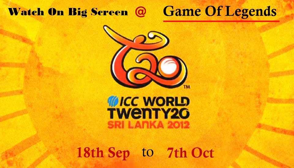 6118b60b893 Cricket Events in Delhi - Watch the ICC World Twenty20 Sri Lanka 2012 at  Game of