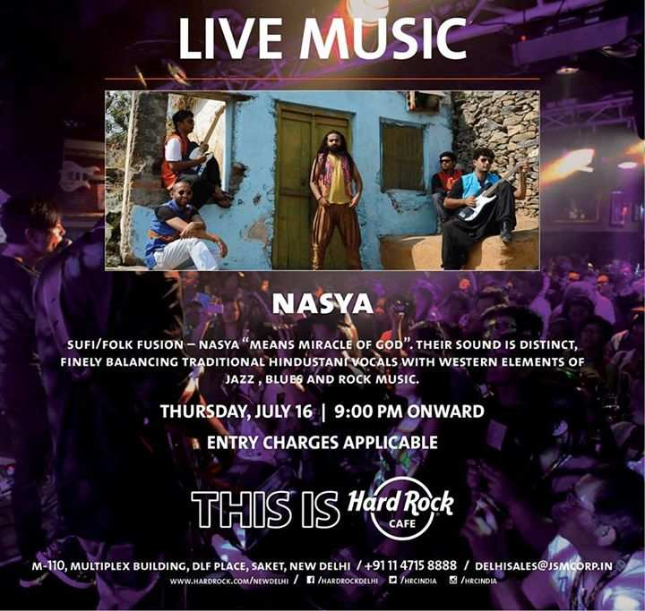 Hard Rock Cafe New Delhi Entry Charges