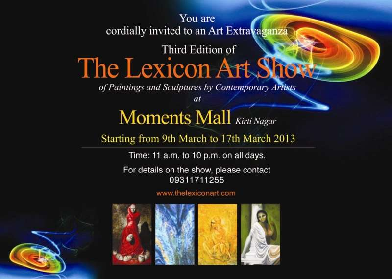 Moments mall kirti nagar shopping malls in delhi ncr events in delhi the lexicon art show paintings sculptures contemporary artists stopboris Choice Image