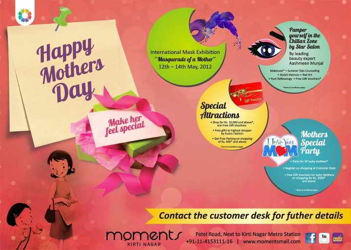 Moments Mall Mothers Day event from 12 to 14 May 2012 ...