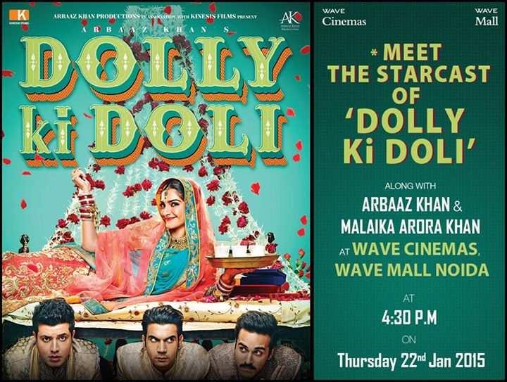 8525cfaf239 Events in Noida - Meet the Star Cast of Dolly Ki Doli along with Arbaaz Khan