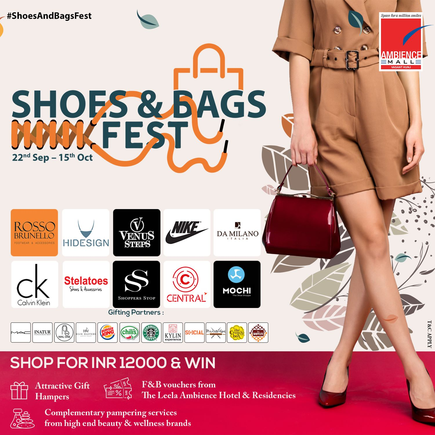 Ambience Malls - Shoes and Bags Fest