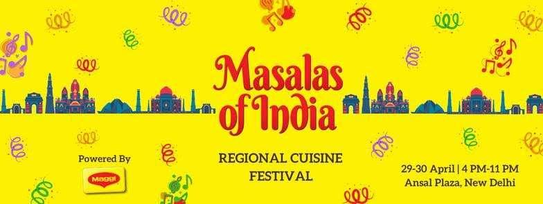Masalas Of India Food Festival