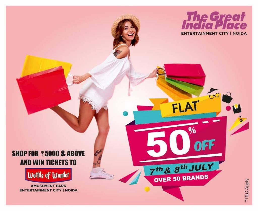 The Great India Place Mall Noida | Shopping Malls in Delhi
