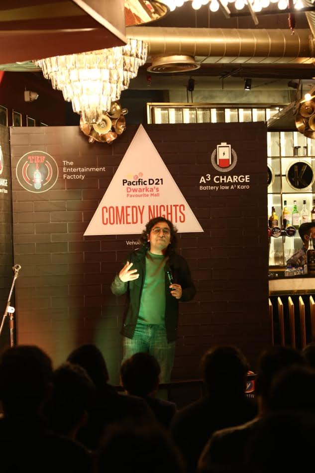 Stand up Comedians Appurv Gupta & Jeeveshu Ahluwalia bring a laughing riot at Pacific Dwarka Mall