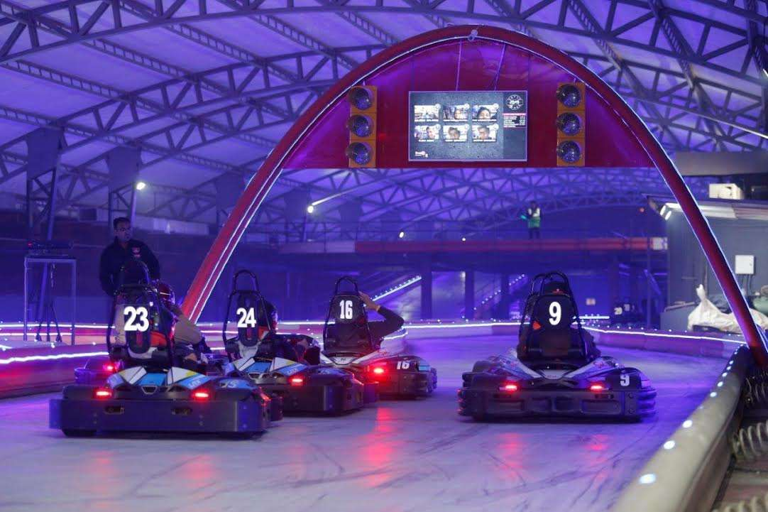 Pitstop BrewPub by SMAAASH opens along with Sky Karting ...