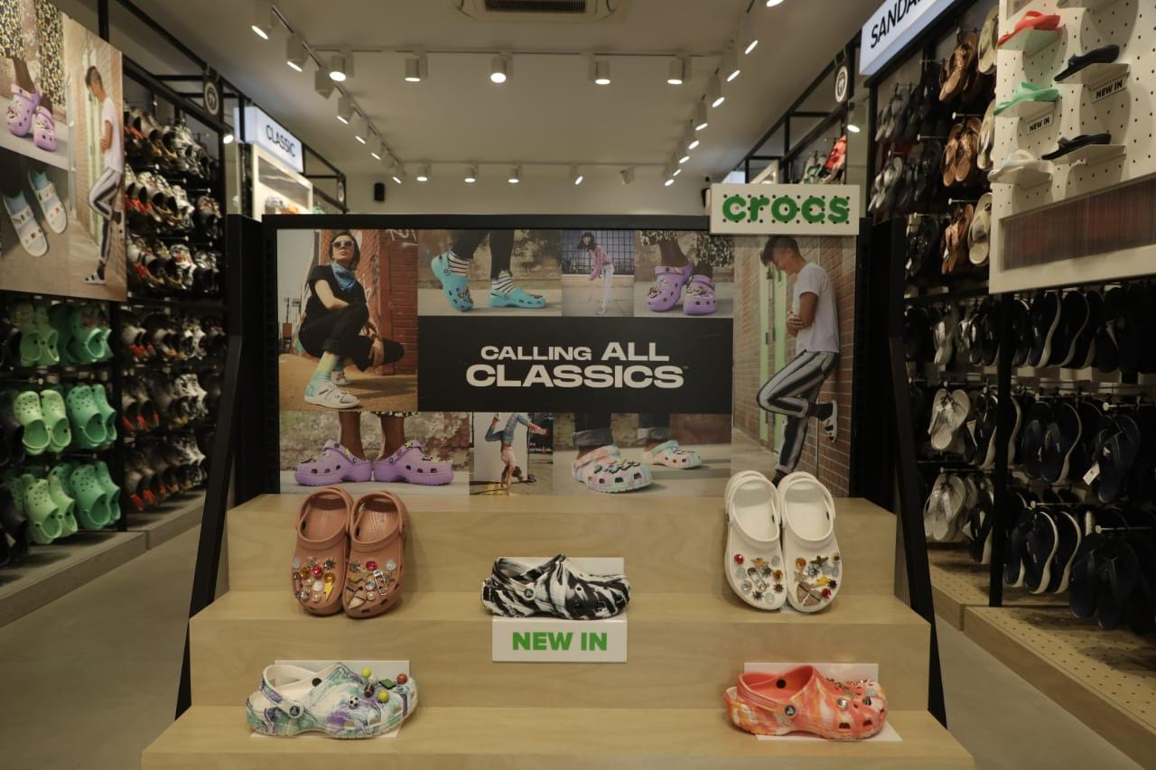 Crocs opens its biggest store in India
