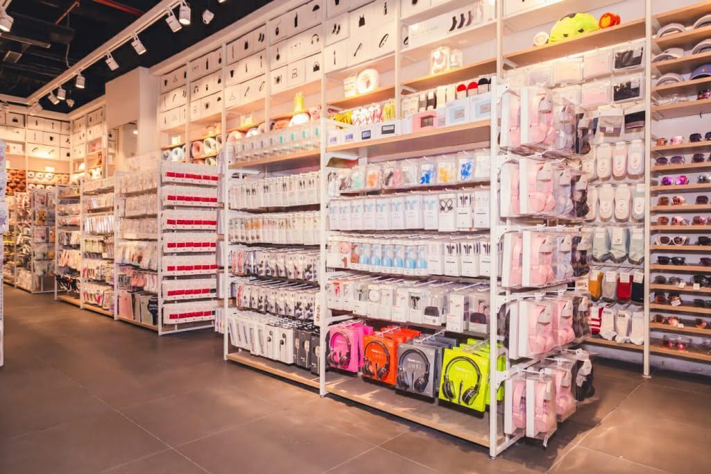 MINISO store at Pacific Mall, Tagore Garden, Delhi