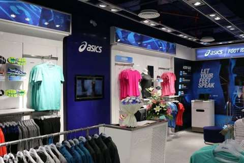 asics exclusive showroom in delhi