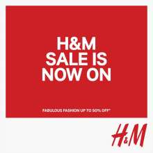 H&M Sale is now on - Fabulous Fashion Up To 50% off