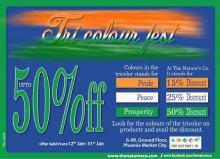 The Nature's Co Tri Colour fest - Upto 50% Off from 12 to 31 January 2013