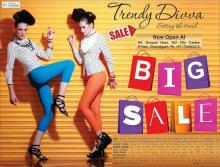 Sale, Upto 50% off at Trendy Divva. The Trendy Divva hottest summer sale is here from Friday 29 JUNE 2012. So get to the Trendy Divva Store near you before the best styles vanish away.