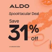 ALDO Spooktacular Deal - Save 31%  Until 3rd November 2019
