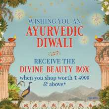 Ayurvedic Diwali - Divine Beauty Box Offer at Kama Ayurveda