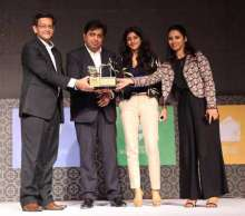 """DLF Promenade bags """"Best shopping mall of the year - National"""" Award"""