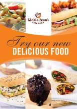 Gloria Jeans Coffees, delicious new food menu, cakes to muffins, hot dogs to croissants, sandwiches to pasta