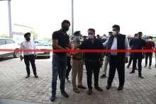 DCP Delhi Abhishek Singh & DCP Dwarka, Santosh Kr. Meena inaugurates drive-through vaccination facility at Pacific D21 Dwarka