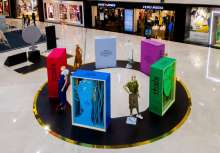 Pacific Mall in collaboration with Army Wives Welfare Association displays Panchtatva décor